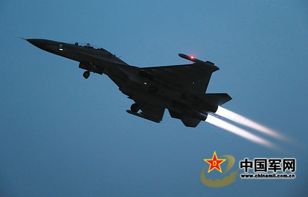 Trung Quốc điều sư đoàn không quân chủ lực