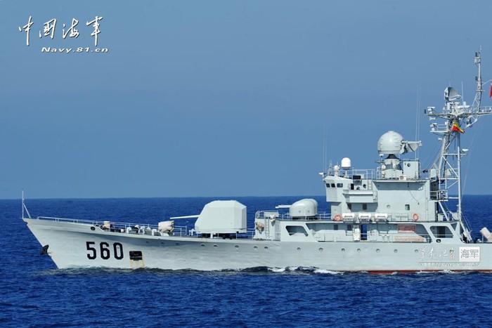 THX: 3 tàu chiến Trung Quốc tập trận