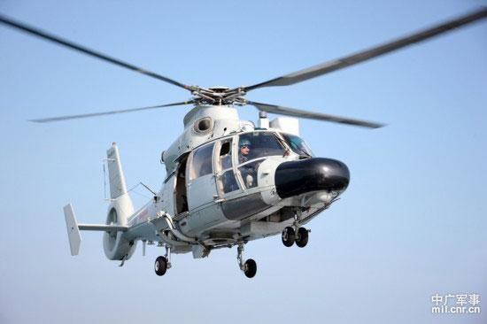 Trực thăng cất cánh từ Hải giám, đòn mới nguy hiểm của Trung Quốc