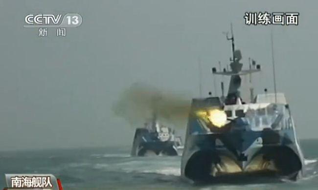 Video: Hạm đội Nam Hải tập trận bắn rơi máy bay địch ngoài biển lạ
