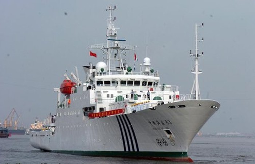 Trung Quốc giao Hải giám thống lĩnh các lực lượng tuần tra Biển Đông