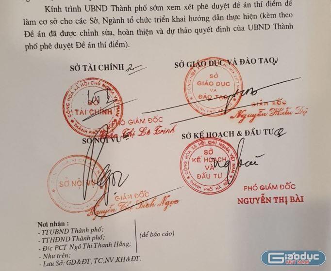 Đề án thí điểm hệ trung học cơ sở chuyên Hà Nội - Amsterdam hết hạn từ 2013
