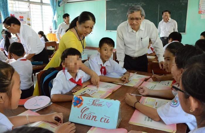 Một tiết thao giảng (Ảnh minh họa: baoquangngai.vn)