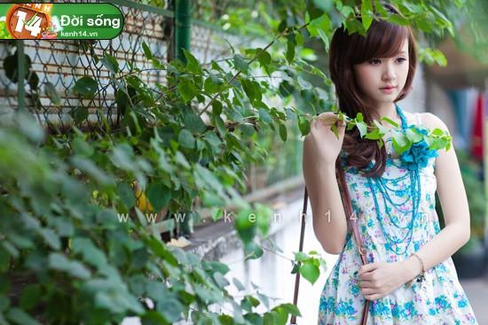 Vẻ đẹp thiên thần của những hot girl xinh, học giỏi