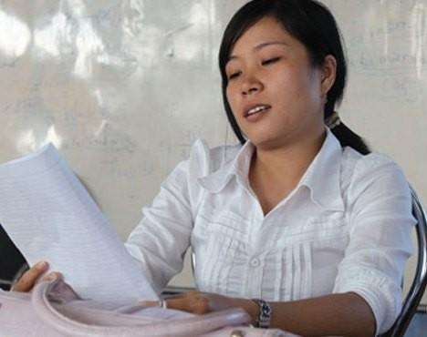 Cô giáo Võ Thị Thiện Tâm