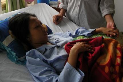 Cơ thể bệnh nhân bị cắt mất 2 quả thận tiếp tục phù