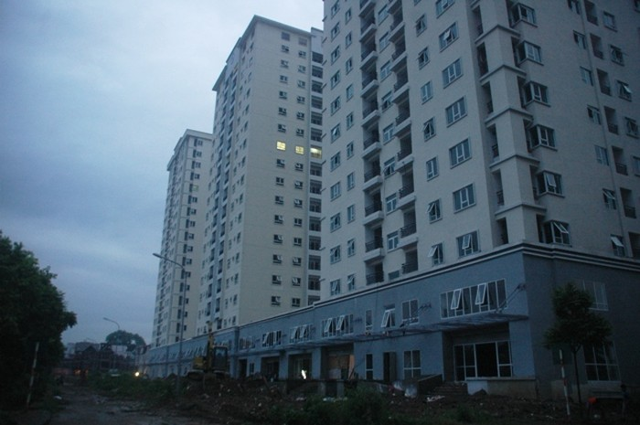 Cận cảnh những căn hộ CT3 Trung Văn bị Cty Hạ Long chiếm dụng vốn