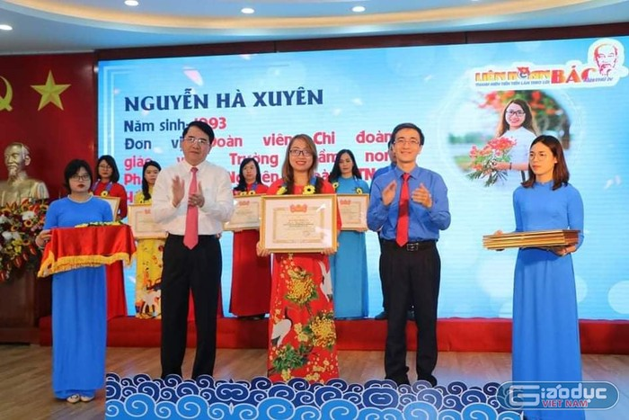 Cô giáo mầm non Hà Xuyên giỏi nghề, chăm làm từ thiện