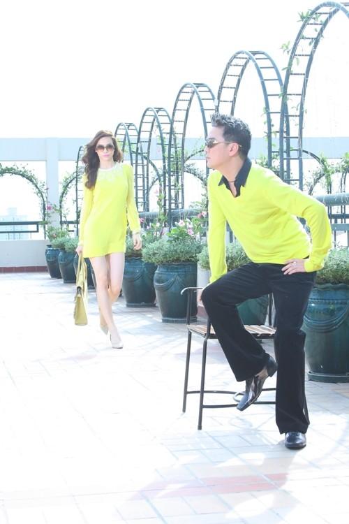 Từng hát song ca trên sân khấu, nhưng Đàm Vĩnh Hưng và Hồ Ngọc Hà lại ít khi chụp ảnh chung.