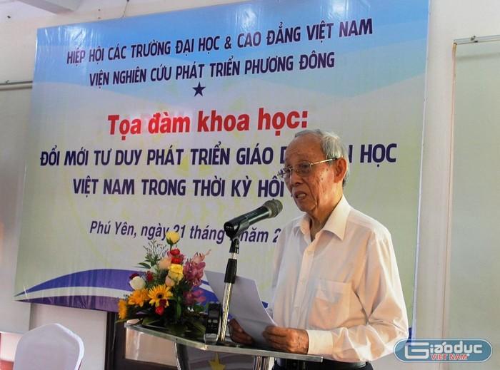 Giáo sư Trần Hồng Quân gửi thư chúc mừng Đại học Tôn Đức Thắng