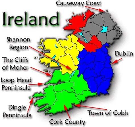 Bài dự thi số 82: Ireland trong mắt tôi