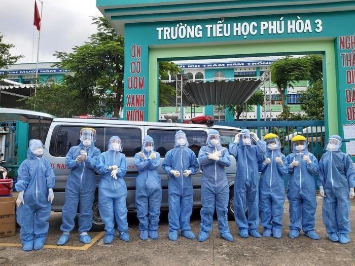 Ngành giáo dục Bình Dương điều động giáo viên tham gia chống dịch Covid-19