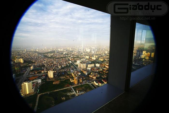Những hình ảnh về thủ đô Hà Nội nhìn từ nóc tòa nhà cao nhất Việt Nam