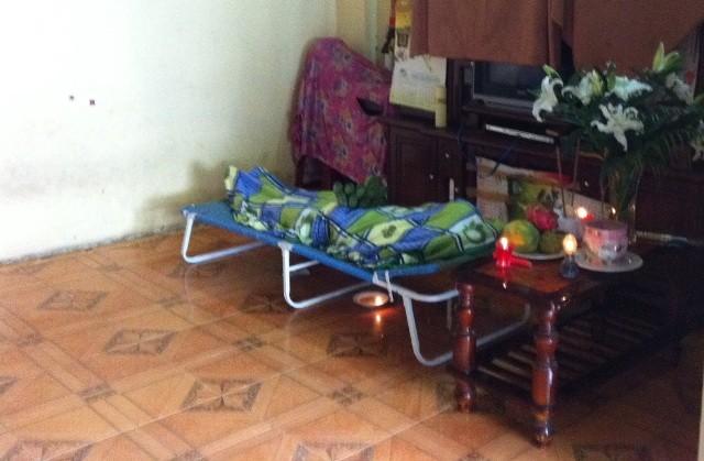 Thi thể nạn nhân Đỗ Thị Thu Hà được giao cho gia đình sáng cùng ngày