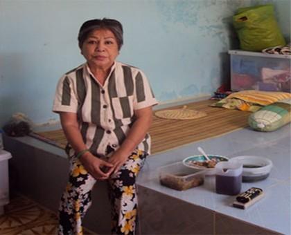Phan Thị Trúc trong thời gian thụ án tại trại giam Xuân Lộc