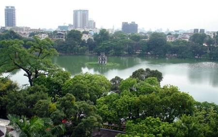 Phó thủ tướng Hoàng Trung Hải yêu cầu nghiên cứu điều chỉnh quy hoạch vùng thủ đô để phù hợp với thực tế. Ảnh: N.Hưng