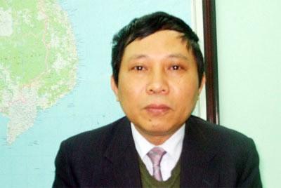 Ông Lê Minh Hải, Phó giám đốc Trung tâm dự báo khí tượng thủy văn Trung ương