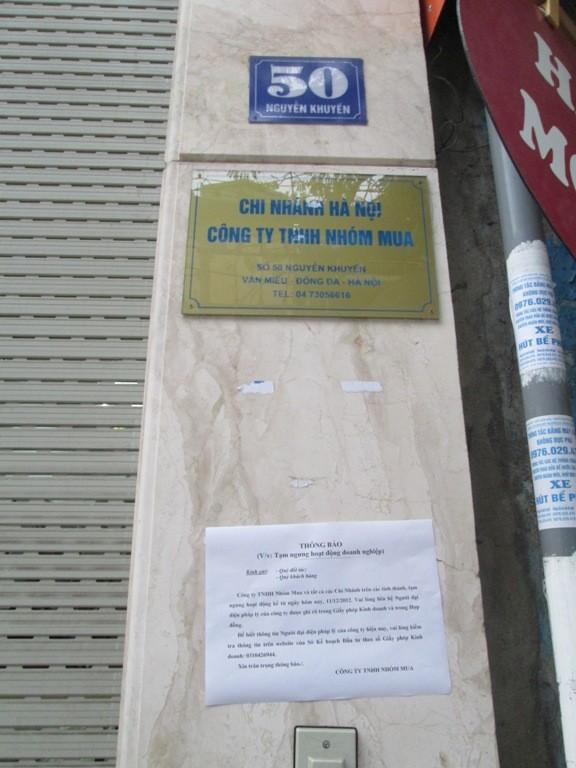Khách hàng bực tức vứt voucher vì Nhóm mua đóng cửa không thông báo