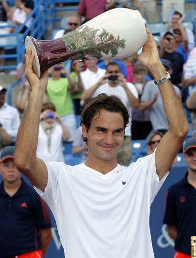 Federer đã có tổng cộng 6 danh hiệu lớn nhỏ trong năm nay