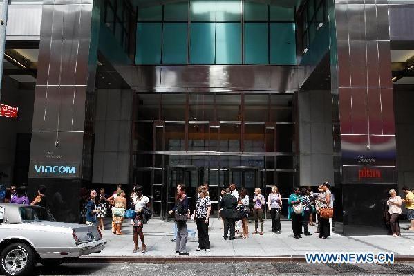 U.S.-EARTHQUAKE-NEW YORK