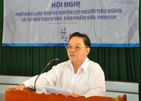 Vinamilk đồng hành phổ biến luật BVNTD tại Kiên Giang