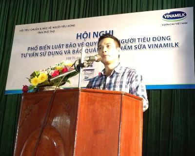 Vinamilk tiếp tục cùng NTD Phú Thọ triệt tiêu tin đồn thất thiệt