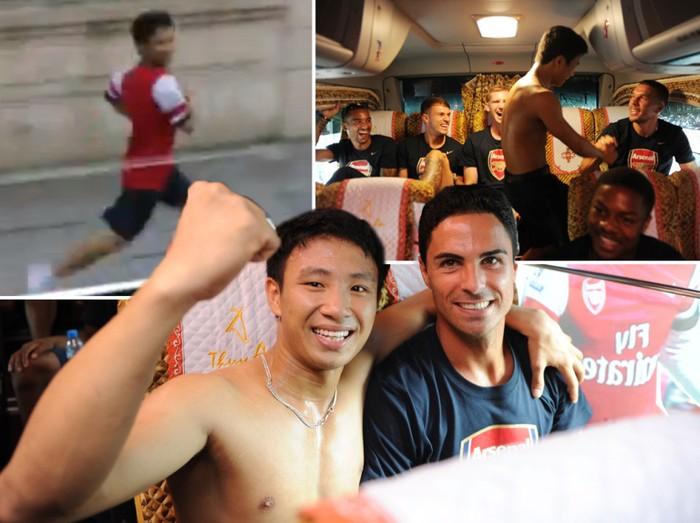 'Running Man' giúp thương vụ Arsenal kết thúc như phim