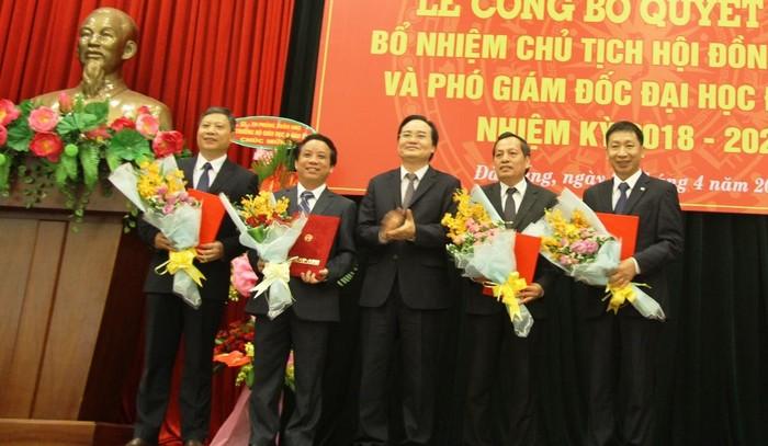 Đại học Đà Nẵng có Chủ tịch Hội đồng Đại học và 3 Phó Giám đốc mới