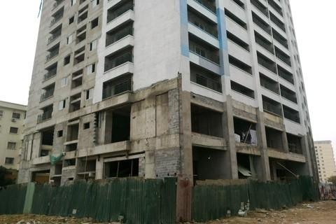 Cận cảnh dự án Megastar Dominium thu 100% tiền nhà rồi đắp chiếu