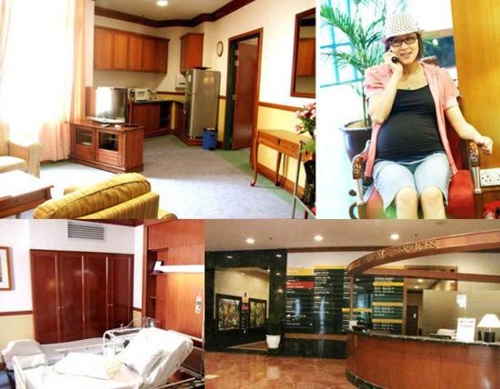 Phòng sinh của Hồ Tịnh ở Malaysia. Ảnh: Sina.