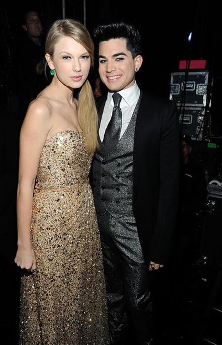 Taylor Swift và American Idol, Adam Lambert.