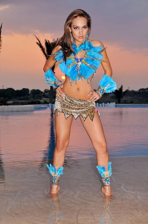 Hoa hậu Bolivia.