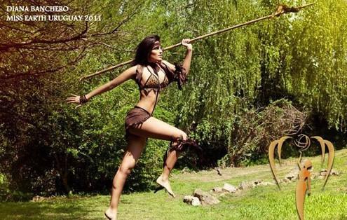 Hoa hậu Hungary.