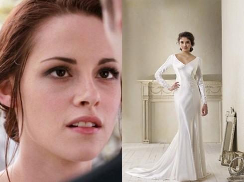 Váy cưới của Bella được bán tại các cửa hiệu thời trang trên khắp nước Mỹ chỉ vài ngày sau khi phim ra mắt.