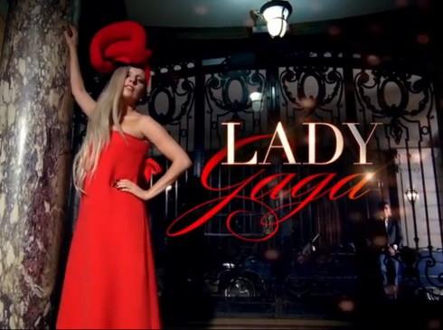 Lady Gaga chụp ảnh quảng cáo cho chương trình