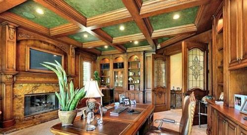 Thư viện chủ yếu được thiết kế từ gỗ.