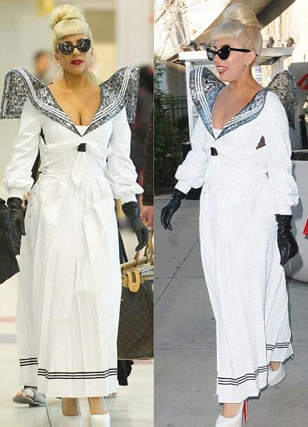 Thời gian gần đây, Lady Gaga dù vẫn giữ phong cách quái chiêu nhưng cũng dần gợi cảm và quyến rũ hơn.