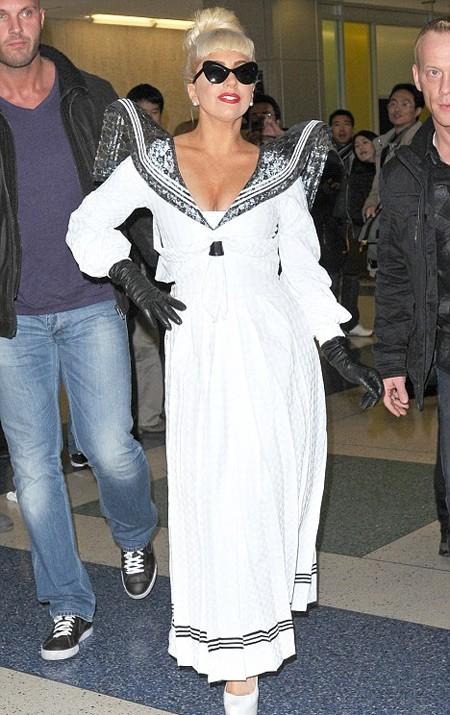 Lady Gaga về New York vừa kịp Lễ Giáng sinh.